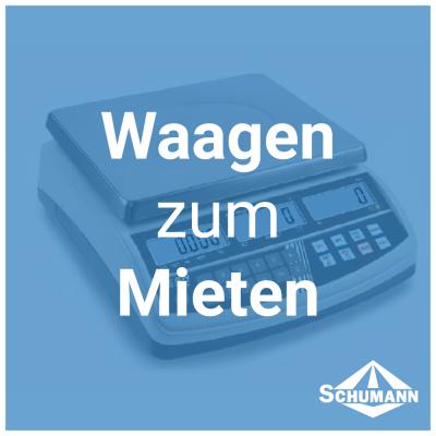 Waagen zum Mieten - Waagen zum Mieten - News | Schumann Shop