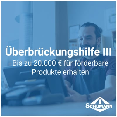 Überbrückungshilfe III - Überbrückungshilfe III für Kassensysteme - News | Schumann Shop